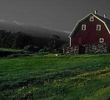 Nova Scotia Farmhouse by milton ginos