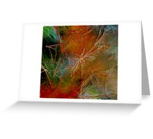 Summer Surrendering to Fall  Greeting Card