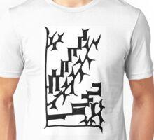 BW Oriental Graph Unisex T-Shirt