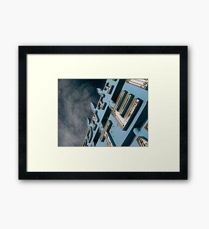 Frontier Motel Framed Print