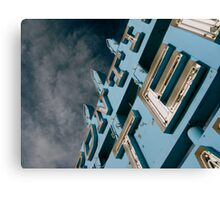 Frontier Motel Canvas Print