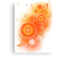 Colour Burn Canvas Print