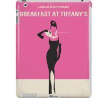 No204 My Breakfast at Tiffanys minimal movie poster iPad Case/Skin