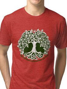 Not all those who wander are lost - Tree of Life Tri-blend T-Shirt