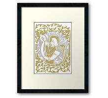 Angel Gold Silver 12 May 15 Framed Print