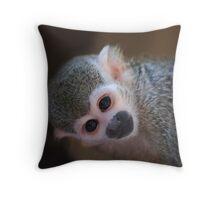Squirrel Monkey II  Throw Pillow