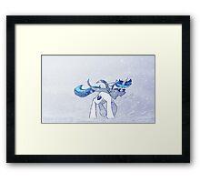 Blizzard Framed Print