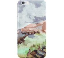 A painted landscape iPhone Case/Skin