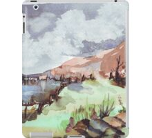 A painted landscape iPad Case/Skin