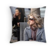 Waiting, Longing.....Patience Throw Pillow