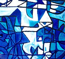 shades of blue by Roy B Wilkins