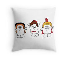 Adipose-the fat just walks away! Throw Pillow