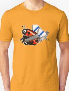 Rocket LadyBug Unisex T-Shirt