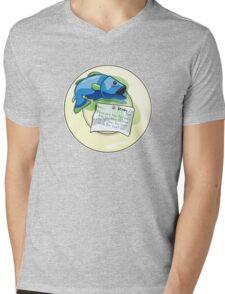 Fish Flatmate Mens V-Neck T-Shirt