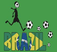 GO GO Brazil Baby Tee