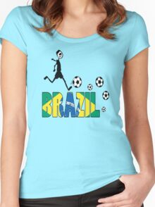 GO GO Brazil Women's Fitted Scoop T-Shirt
