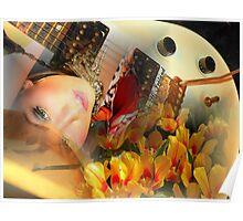Guitar Art/Kristi.... Poster