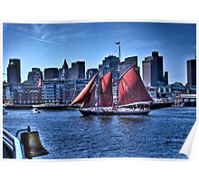 Sail Boston - Beautiful Roseway Poster