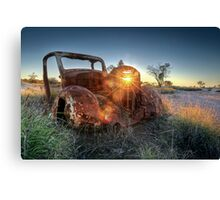Old Wreck Canvas Print