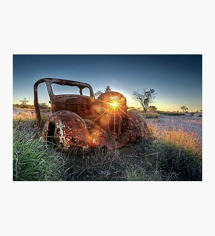 Old Wreck Photographic Print