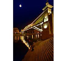 Footbridge Photographic Print