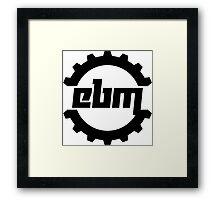 EBM Framed Print