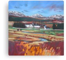 Dalwhinnie Distillery Canvas Print