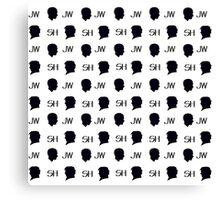 Mini Sherlock Canvas Print