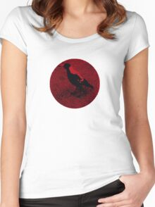 The Sitting Duck Women's Fitted Scoop T-Shirt