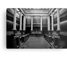 The Legislative Council Metal Print