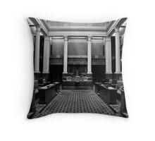 The Legislative Council Throw Pillow