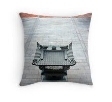 Penang Clan House Throw Pillow
