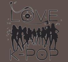 LOVE K-POP MUSIC Kids Clothes