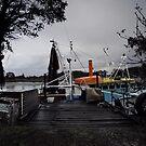 Colour boat by Mark Llewellynn
