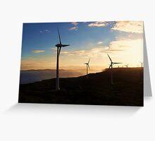 Wind Farm Greeting Card