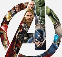 Avengers Symbol by AvatarSkyBison