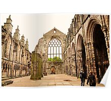 Holyrood abbey, Edinburgh. Poster