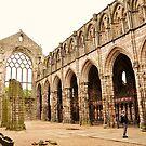 Holyrood abbey, Edinburgh. 2 by Finbarr Reilly