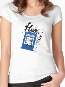 Hello Who? Women's Fitted Scoop T-Shirt