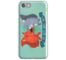 I'm Nuts About You Squirrels iPhone Case/Skin