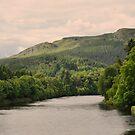 The river Tay, Scotland. by Finbarr Reilly