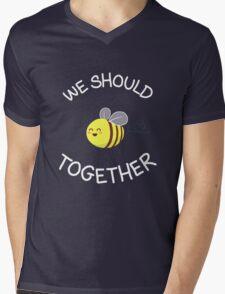 A bug's love life! Mens V-Neck T-Shirt