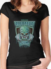PREDATOR GYM Women's Fitted Scoop T-Shirt