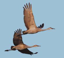 A Loving Couple in Flight by William C. Gladish
