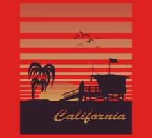 California surfing Kids Clothes