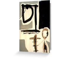 the woman 2 Greeting Card