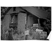 Dilapidated House Poster