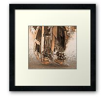 Dancing Feet Framed Print