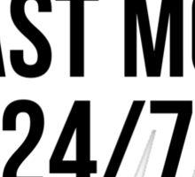 BEAST MODE 24/7 Sticker