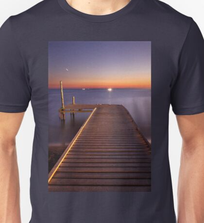 Strange lights in the distance Unisex T-Shirt